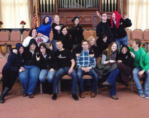 Dystropians, Class of WInter 2013