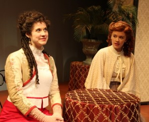 Morgan Wagner as Philippa Gordon & Ellen Denny as Anne Shirley.