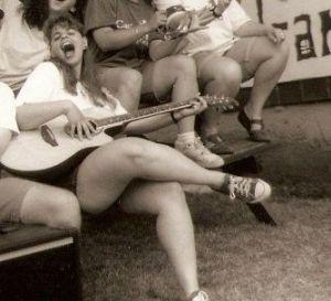 me singing sort of