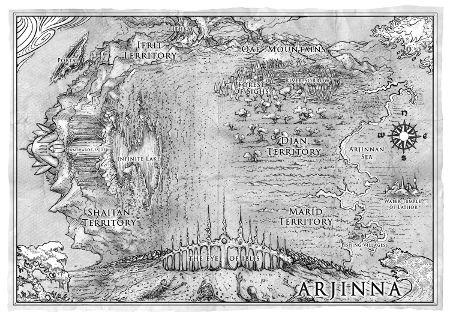 Arjinna map