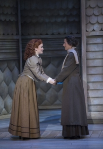 Ellen Denny and Alison Woolridge as Anne and Marilla, courtesy of National Arts Centre