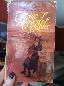 Deborah's sister's copy of Anne of Green Gables.